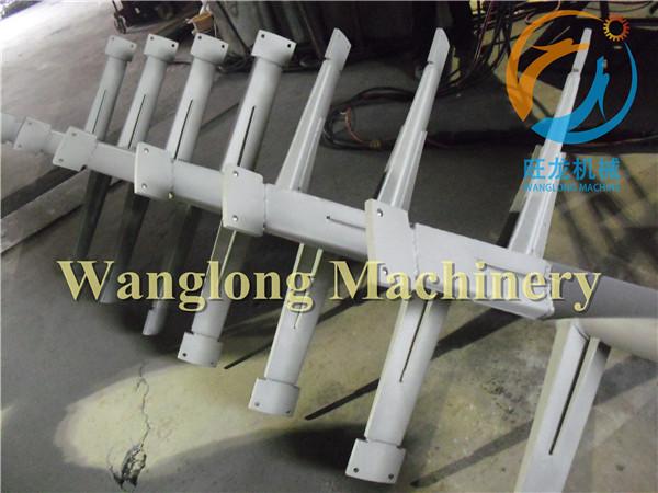 三元材料干燥设备桨叶喷涂碳化钨
