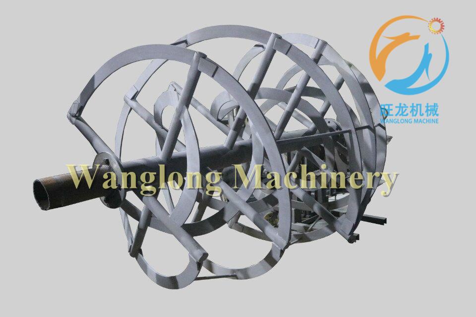 卧式螺带混合机喷涂耐磨碳化钨涂层