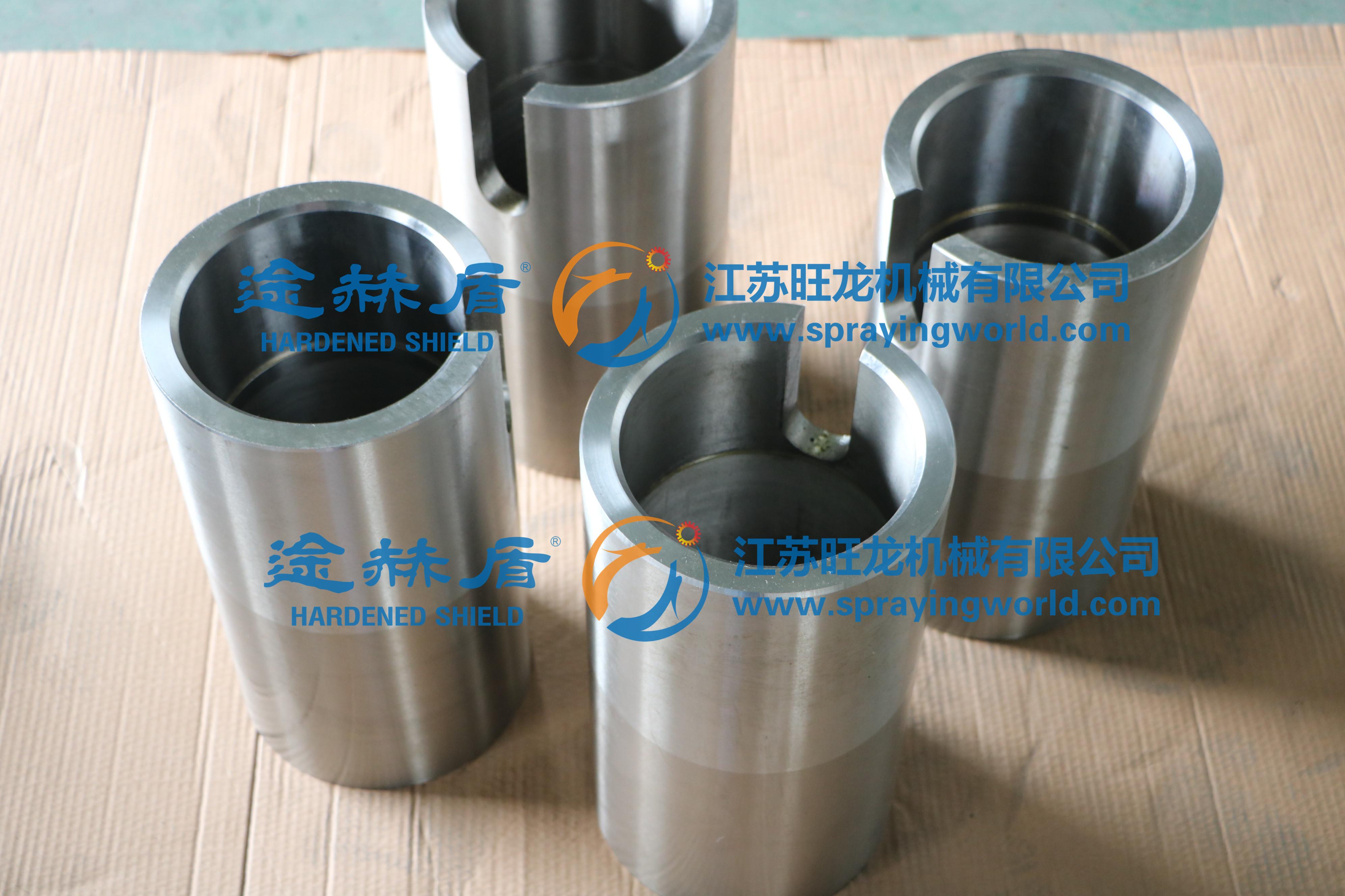 耐磨耐腐硬质合金涂层泵套(来图加工)